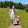 Hiking_with_daddy